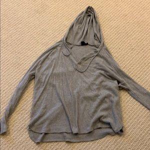 Gray Shirt/sweatshirt